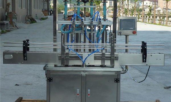 Mesin pengisian pasta kacang otomatis