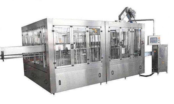 8000BPH Jalur Mesin Pengisian Minyak Kelapa Otomatis