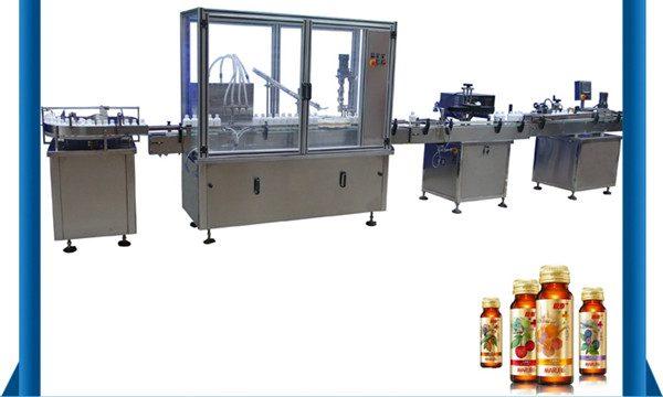 Cina Pemasok Otomatis Botol Mengisi Cairan Botol Madu