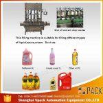 Otomatis Mesin Pengisian Minyak Goreng 2, 4, 6, 8, 10, 12 Kepala