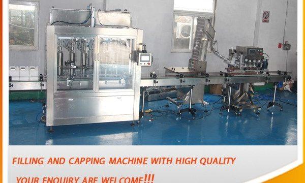 Mesin Pengisian Minyak Otomatis Penuh 5 Liter yang Efisien Tinggi