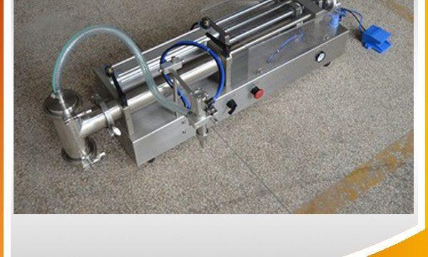 Mesin Pengisian Piston Semi-otomatis Mesin Pengisian Minyak Ideal