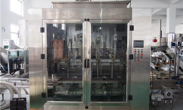 Mesin Pengisian Minyak Makanan Otomatis Dan Mesin Pengemasan Minyak Zaitun
