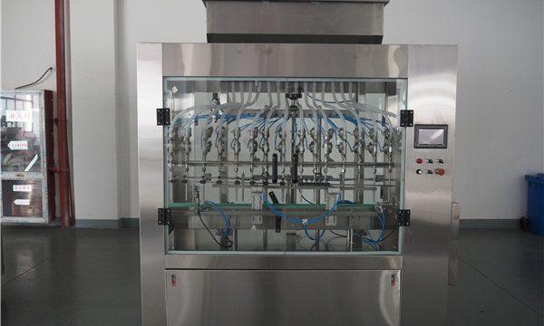 Mesin Pengisian Cairan Tekanan Atmosfer Otomatis 12 Kepala