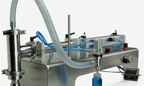 Kontrol Pneumatik Mesin Kepala Ganda Mengisi Minyak Pelumas