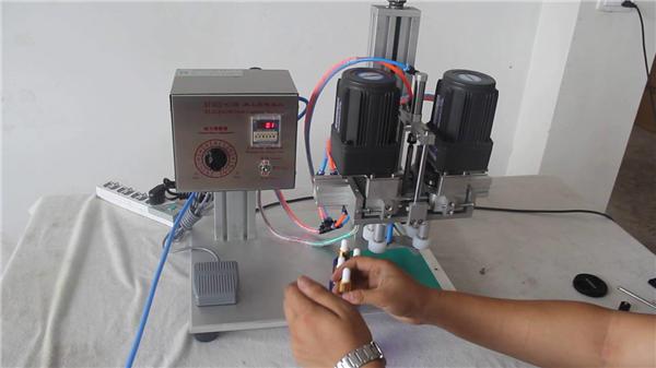 Pabrikan Mesin Capping Pneumatik Otomatis Penuh