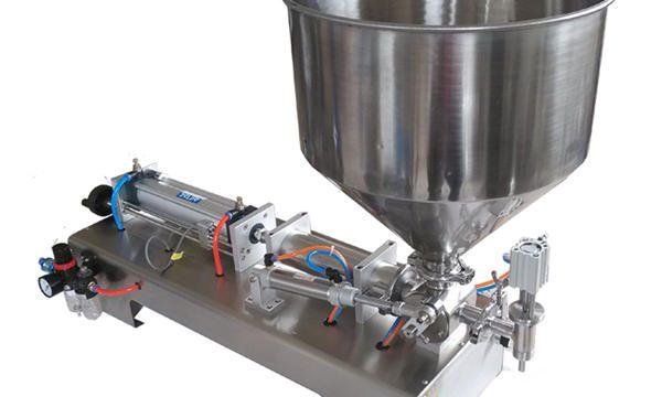 Mesin Pengisian Madu Kaca Piston Semi-Otomatis