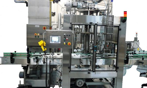 Pemasok Rotary Filling and Capping Machine