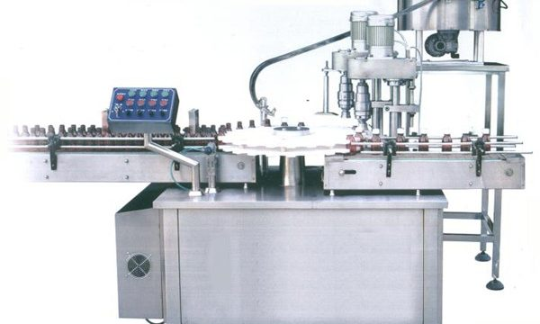 Mesin Capping Rotary Filling Sauce Rotary