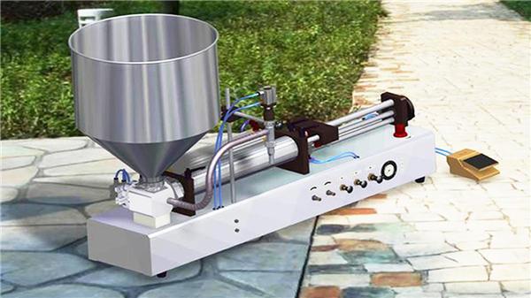 Mesin Pengisian Cairan Deterjen Semi-Otomatis