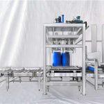 Mesin ESDF Seri 100-1000L Kapasitas Besar Drum Otomatis Dapat Diisi