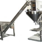 Semi-otomatis Powder Filler Dry Powder Filling Machine