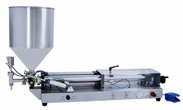 Mesin Pengisian Pasta Semi-otomatis untuk 3mL-5L