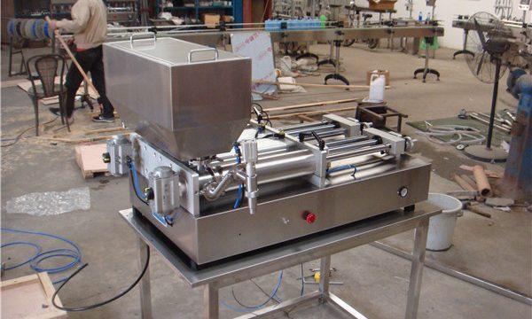 Grosir Mengisi Mesin Saus Semi Otomatis